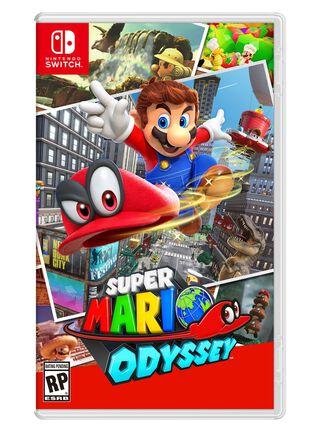 Juego Super Mario Odyssey Nintendo,,hi-res