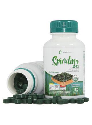 Spirulina Organica 180 Tabletas,,hi-res