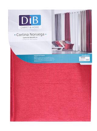 Cortina Noruega Rojo 140 x 240 cm Dib,,hi-res