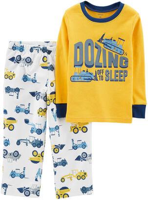 504860e1ba Pijama 2 Piezas micropolar Niño 2 A 4 Años Carter s