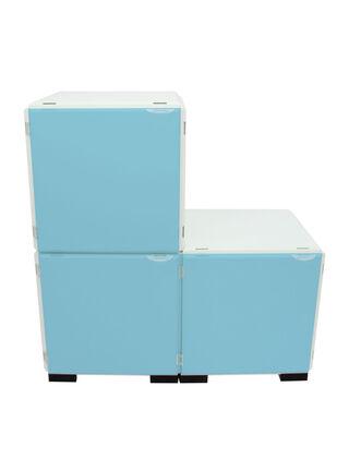 Mueble Modular Set 16 Piezas Blanco Celeste Kab Möbel,,hi-res