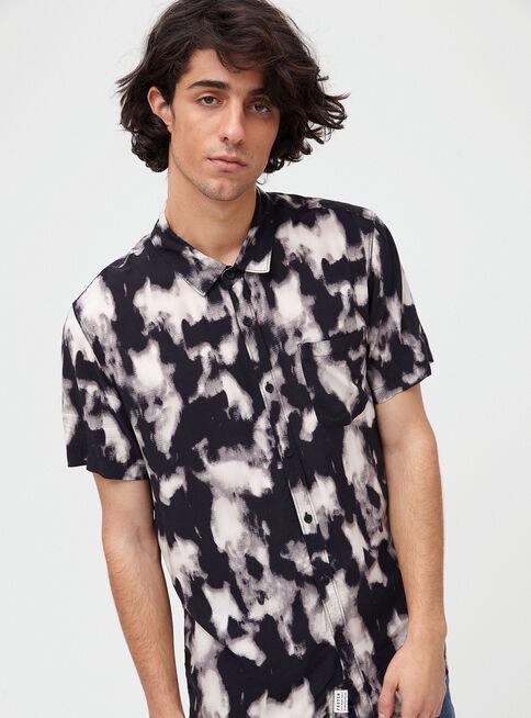 0a068da7783d Camisa Manga Corta Tie Dye Viscosa Foster en Foster | Paris