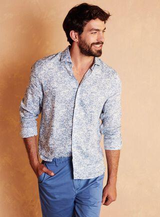 Camisa Sport Slim Legacy,Azul,hi-res