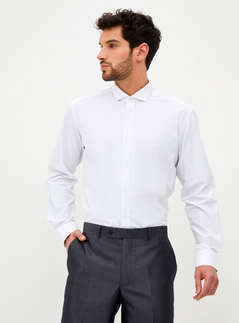Camisa%20de%20Vestir%20Blanca%20Lisa%20Manga%20Larga%20Alaniz%2CBlanco%2Chi-res