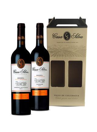 Pack Casa Silva Reserva Cuvée 750 cc,,hi-res