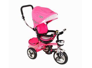 Triciclo Multietapa Asiento Reversible Fucsia Bebeglo,,hi-res