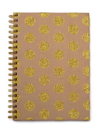 Cuaderno Espiral Tapa Dura Lunares American Crafts 25 x 18 cm,,hi-res