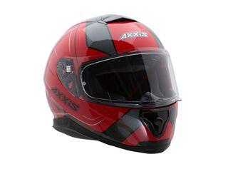 Casco Axxis Thunder Trace Rojo Negro,Rojo,hi-res