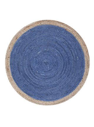 Alfombra Redonda Pastel Blue 100 cm Attimo Kids,,hi-res
