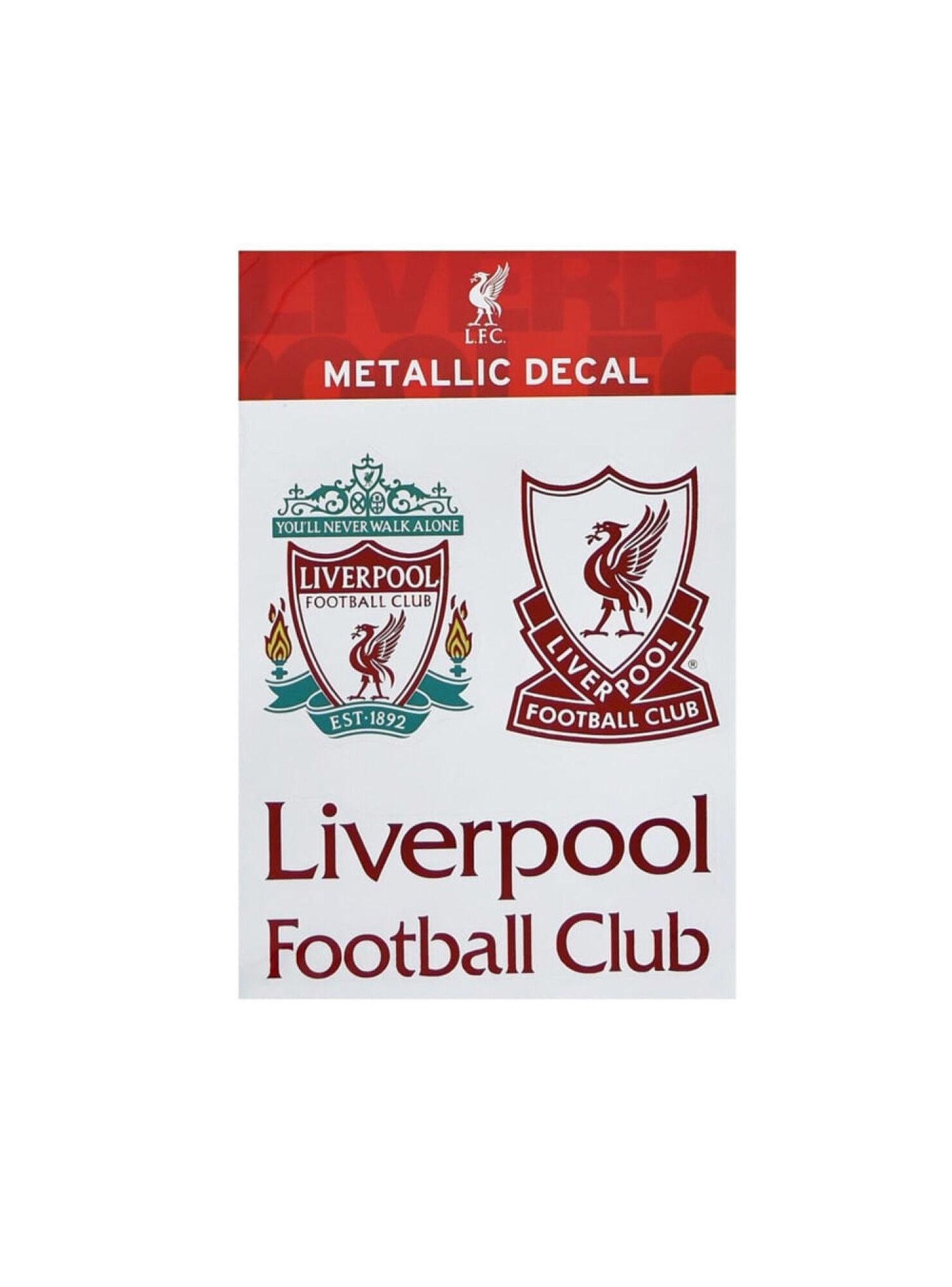Sticker Liverpool Metallic Decals Maccabi