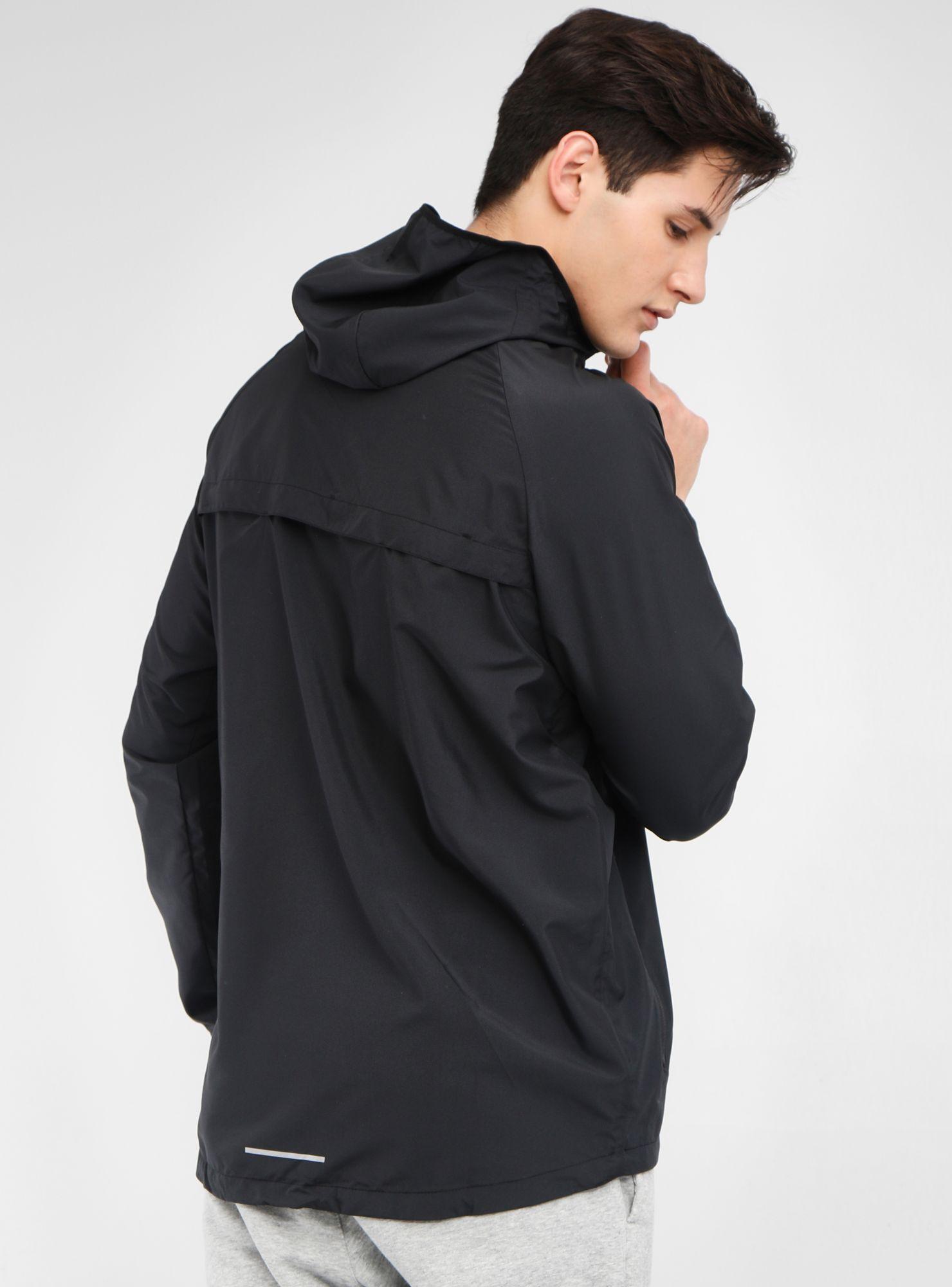 Nike Chaqueta Essential Hooded Running Hombre UVpqSzjLMG