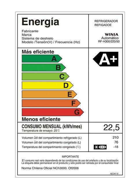 Refrigerador%20Bottom%20Freezer%20Winia%20286%20Litros%20No%20Frost%20RF-H300%2C%2Chi-res