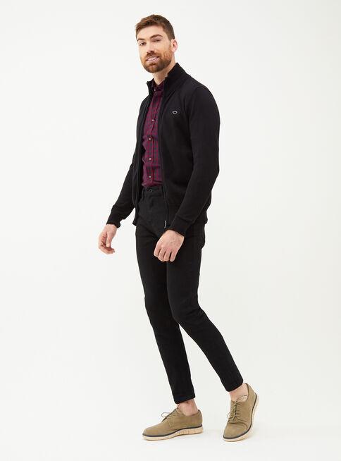 Sweater%20Liso%20Full%20Zipper%20Oscar%20de%20La%20Renta%2CNegro%2Chi-res