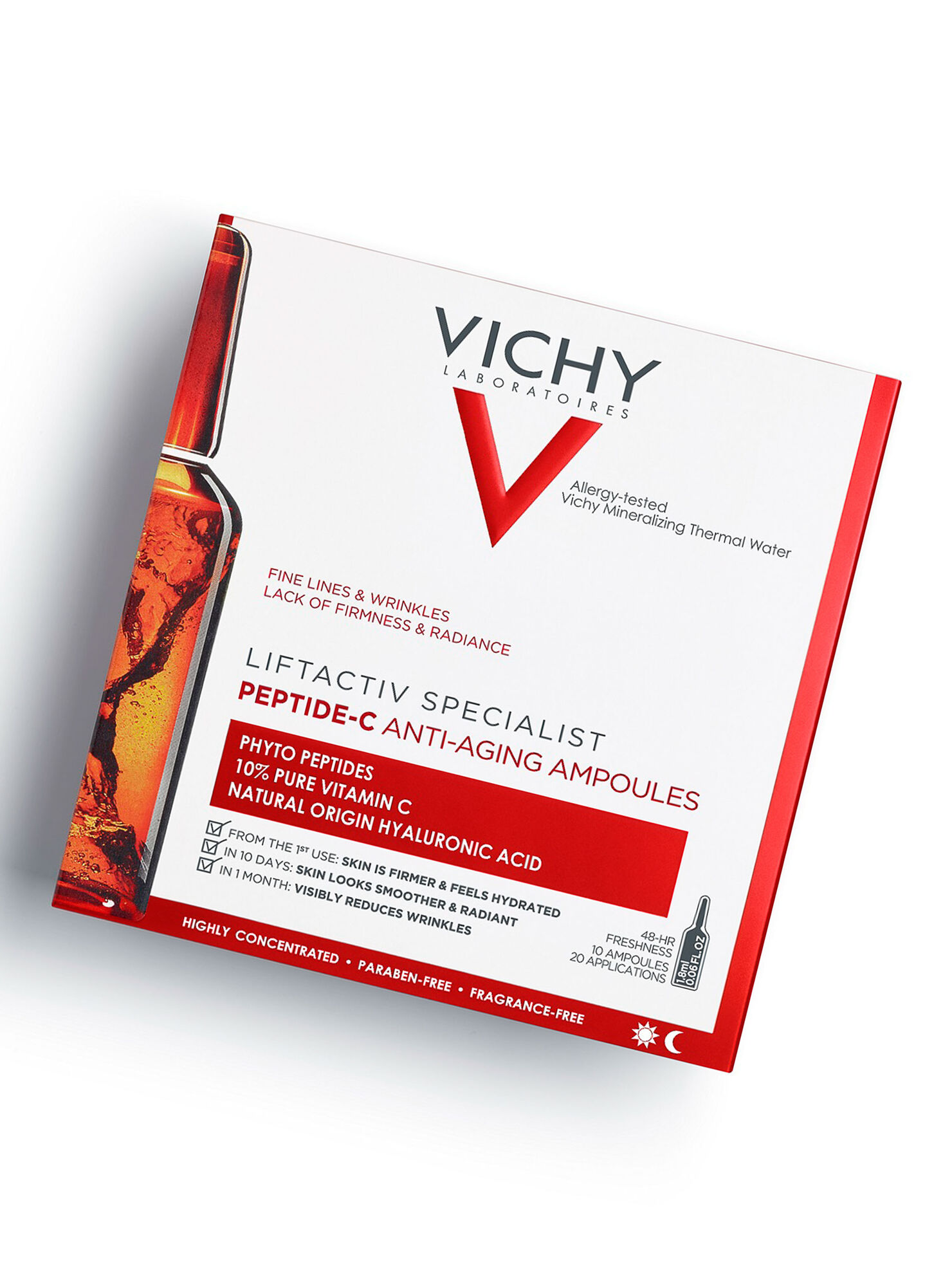 Contento Obediente inflación  Ampollas Liftactiv Peptide c x10 Vichy - Rostro | Paris.cl