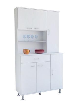 Mueble de Cocina Kitchen 6 Puertas 90x35x160 cm TuHome,,hi-res
