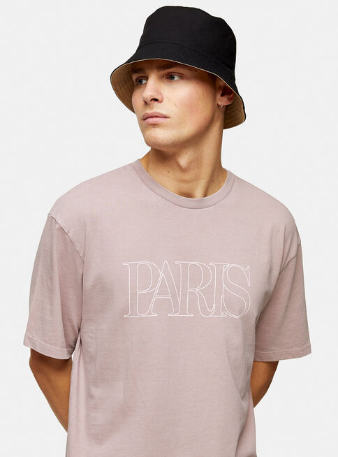 Polera%20Rosada%20Wash%20Paris%20Topman%2C%C3%9Anico%20Color%2Chi-res