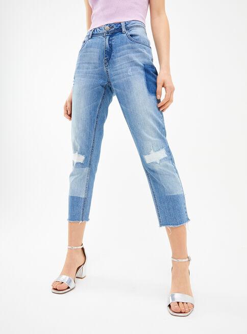 Jeans%20Destroyed%20Promod%20Placard%20%20%2CCeleste%2Chi-res