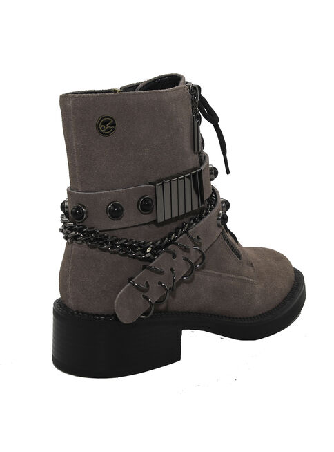 Bot%C3%ADn%20Ex%C3%B3tica%20Ermioni%20Taco%20Bajo%20Taupe%20Mujer%2CVerde%20Militar%2Chi-res