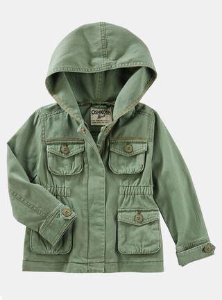 Chaqueta Niña Tallas 2 a 5 Años OshKosh B'Gosh,Verde Olivo,hi-res