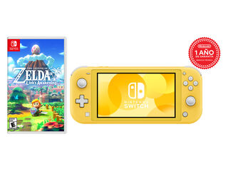 CONSOLA NINTENDO SWITCH LITE YELLOW + TLOZ LINKS AWAKENING
