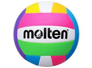 Pelota Volley Playa MS-500 Neon N°5 Molten,Diseño 1,hi-res