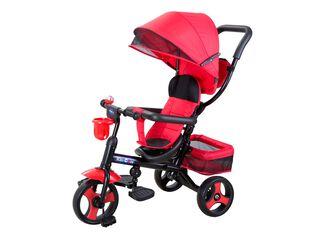 Triciclo 4 Funciones en 1 Rojo Kidscool,,hi-res