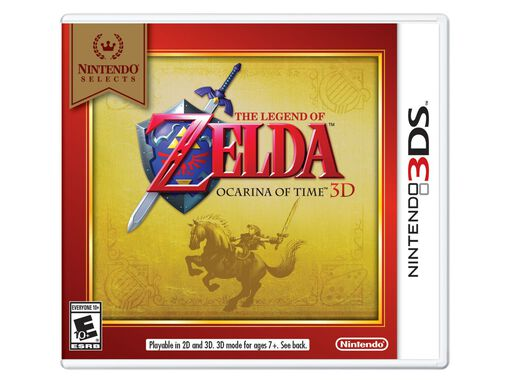 Juego Nintendo 3ds The Legend Of Zelda Ocarina Of Time 3d Juegos