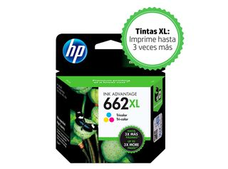 Cartucho Tinta HP 662XL Tricolor,,hi-res