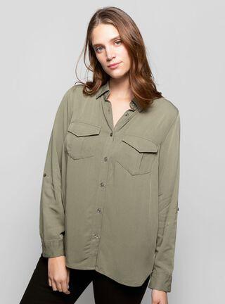 Blusa Clásica Rainforest,Verde,hi-res