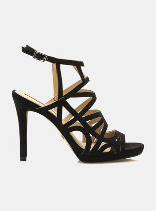 Zapato de Vestir Mariamare Afelpado,Negro,hi-res