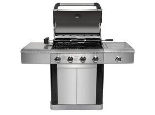 Parrilla a Gas 4 Quemadores + Quemador Lateral BBQ Grill,,hi-res