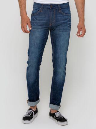 Jeans Slim Fit Lee,Azul Oscuro,hi-res