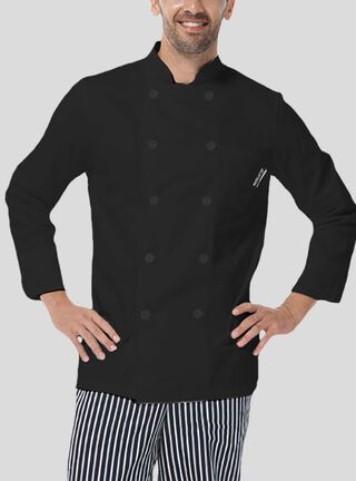 Chaqueta Chef Checked Out,Negro,hi-res
