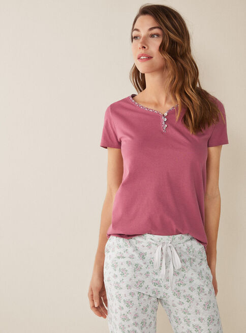 Polera%20Pijama%20Mix%26Match%201%20Pink%20Women'Secret%2CGuinda%2Chi-res