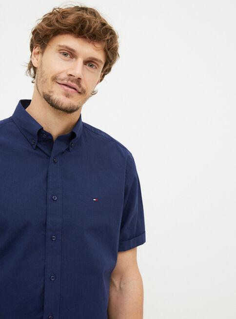 Camisa%20Poplin%20Basic%20Solid%20Custom%20Fit%20Tommy%20Hilfiger%2CAzul%20Marino%2Chi-res