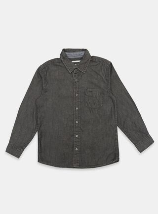 Camisa Melt Jaspeado Niño,Marengo,hi-res