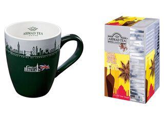 Mug London + Té Chai Spice Ahmad,,hi-res