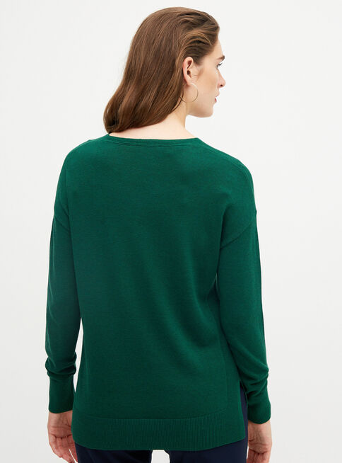 Sweater%20Cuello%20V%20Esprit%2CVerde%2Chi-res