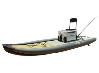 Stand Up Paddle de Pesca Aqua Marina Drift - 3mts,Gris,hi-res