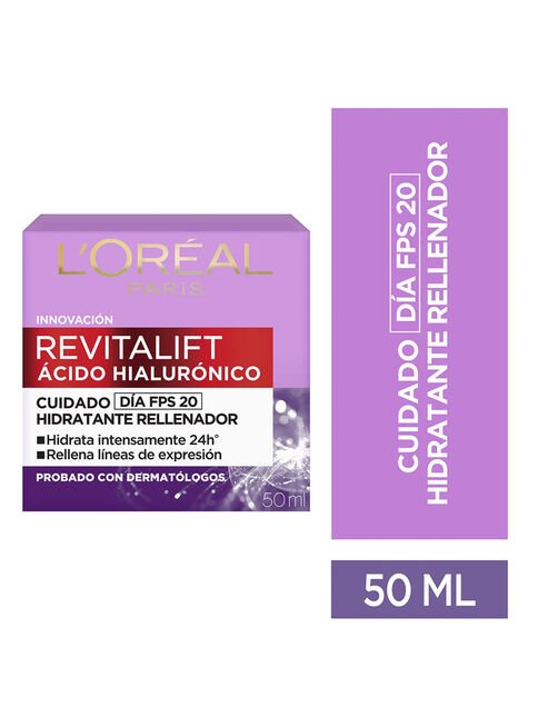 Crema%20Revitalift%20Acido%20Hialuronico%20D%C3%ADa%2050%20ml%20L'Or%C3%A9al%20Paris%2C%2Chi-res
