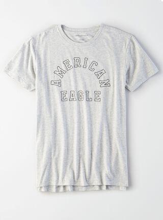 Polera Con Bolsillo American Eagle,Gris,hi-res
