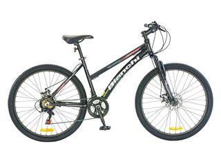 Bicicleta MTB Bianchi Stone Lady Aro 26 Freno Disco,Negro,hi-res