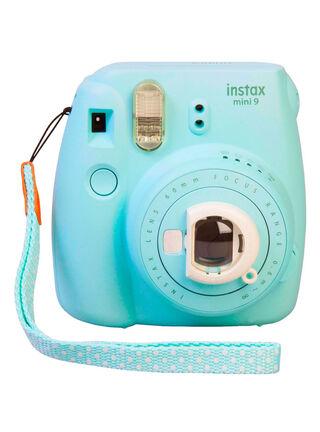 Camara Instax Mini 9 Celeste Fuji Film,,hi-res
