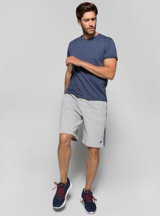 Short Adidas Hombre Essentials 3 Tiras Gris,Gris,hi-res