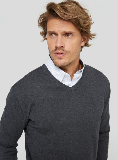 Sweater%20Liso%20Cuello%20V%20Greenfield%2CNegro%2Chi-res
