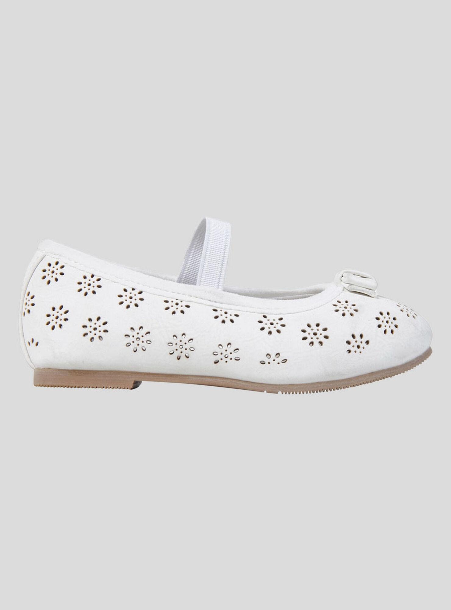 3f226f8d Ballerina Niña Blanco Flores Opaline en Zapatos Niñas | Paris