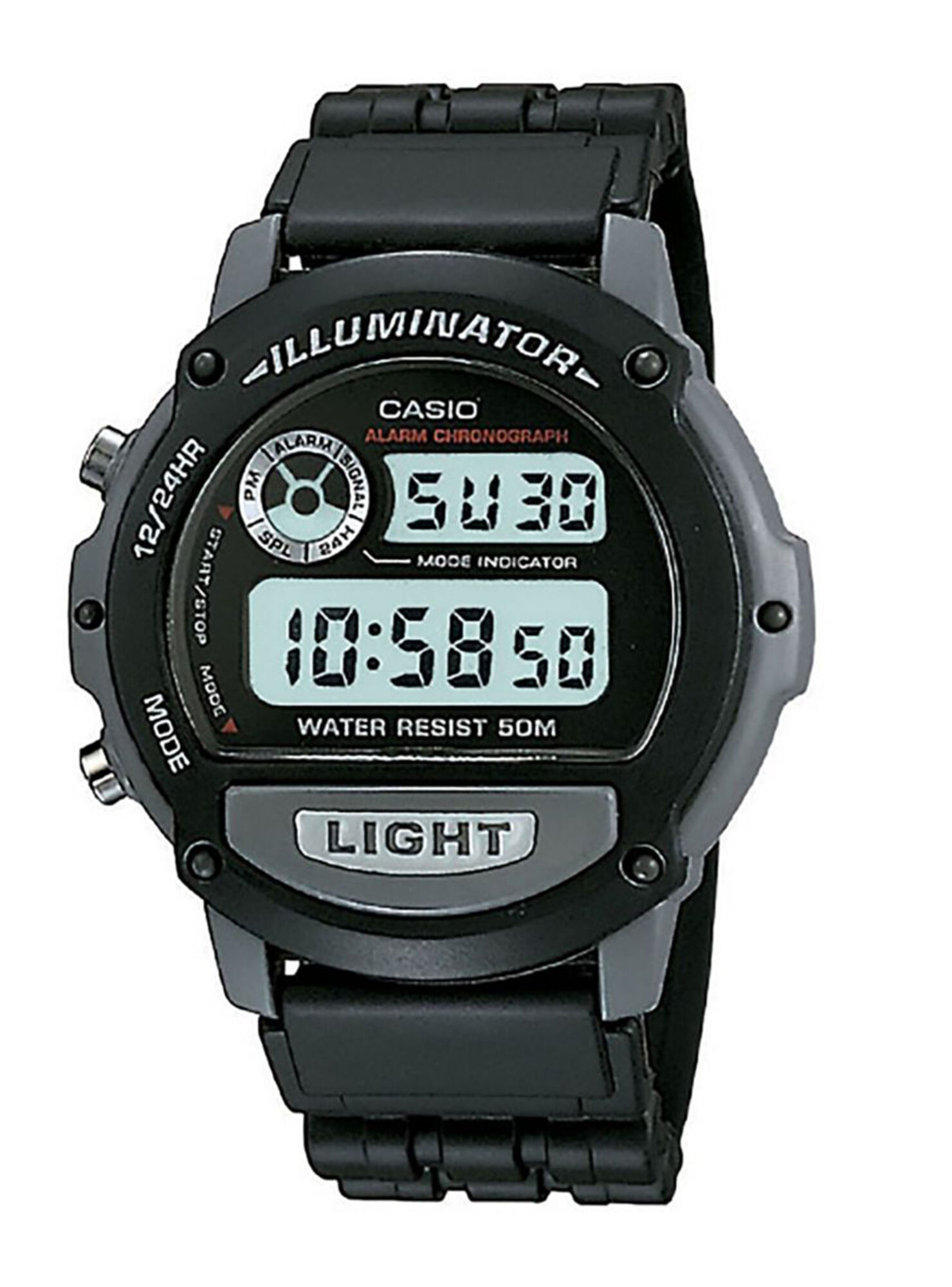 c70202505881 Reloj Digital Casio W-87H-1VHDR Hombre en Relojes
