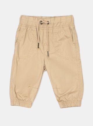Pantalón Tribu Básico Niño,Camel,hi-res
