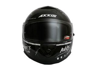 Casco Axxis Thunder 3 Board Negro Blanco,Carbón,hi-res