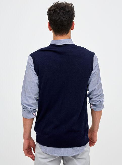 Sweater%20Sin%20Mangas%20Lana%20Merino%20Legacy%2CAzul%20Oscuro%2Chi-res